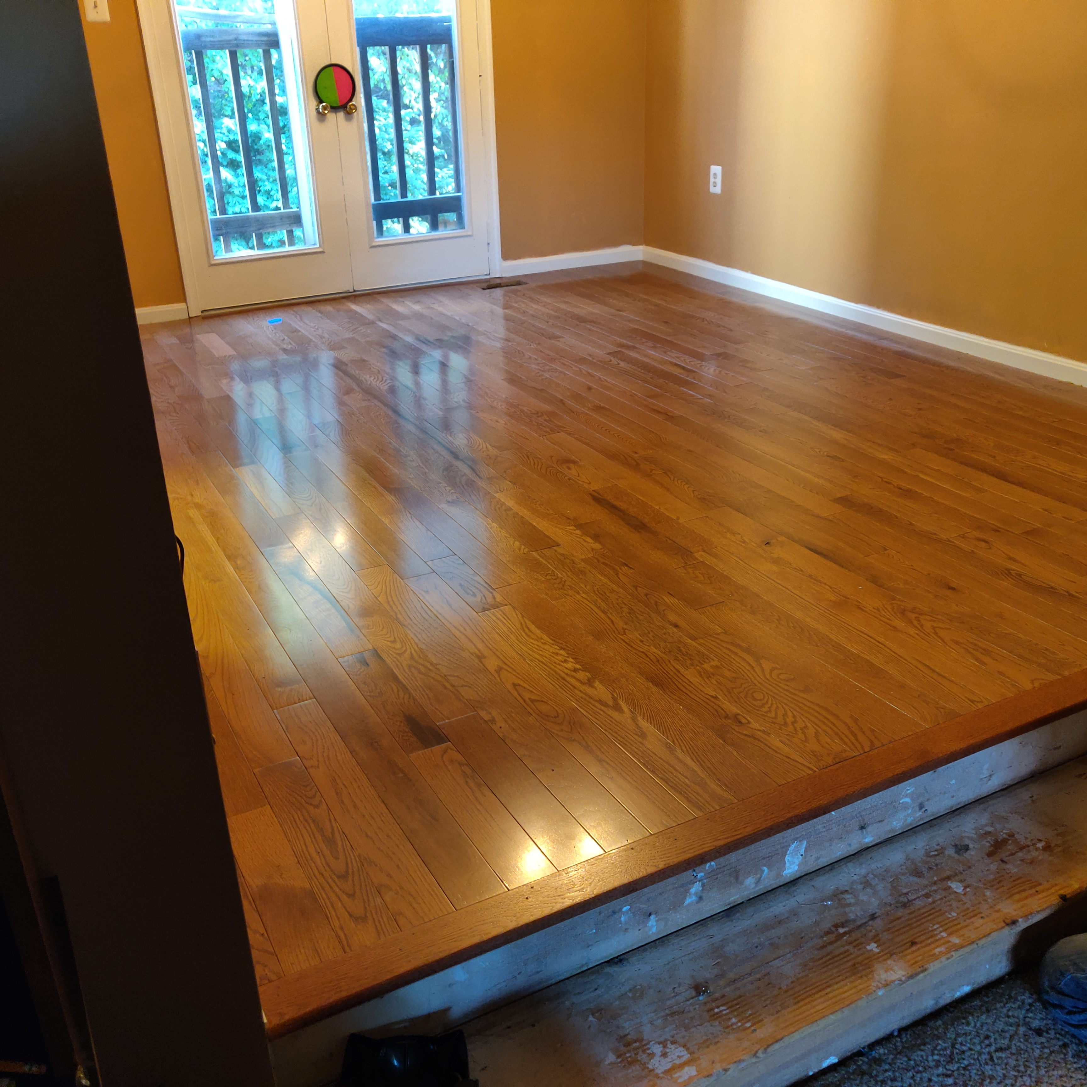 Hard wood Floors installed by Graham Home Services